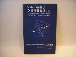 Angler's guide to Sharks of the Northeastern US 1964