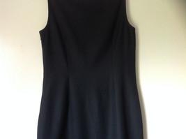 Ann Taylor Loft Little Black Sleeveless Dress Scoop Neck Zipper Closure Size 6 image 7