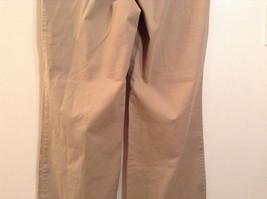 Ann Taylor Loft Tan Casual Pants Flared Bottoms Back Pockets Size 10P image 6