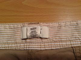 Ann Taylor Loft Tan Casual Pants Flared Bottoms Back Pockets Size 10P image 8