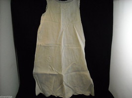 Antique Baby Dress Gown Sheer Linen 1900s Vintage Edwardian
