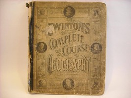 Antique 1877 Complete Course in Geography Swinton