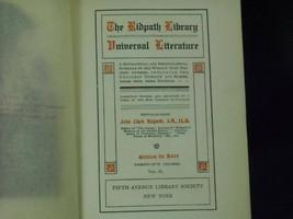 Antique 1899 Ridpath Library Universal Literature Vol 2