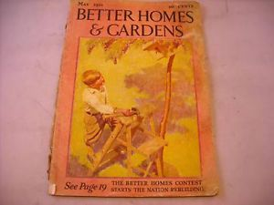 Antique Better Homes and Gardens May 1933