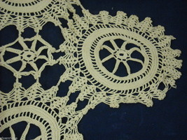 Antique Handmade Lace Bedspread
