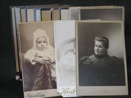 Antique Photos 1880s Treadwell Davis Sioux City Iowa