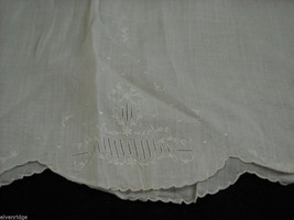 Antique Baby Dress Gown Sheer Linen 1900s Vintage Edwardian image 6