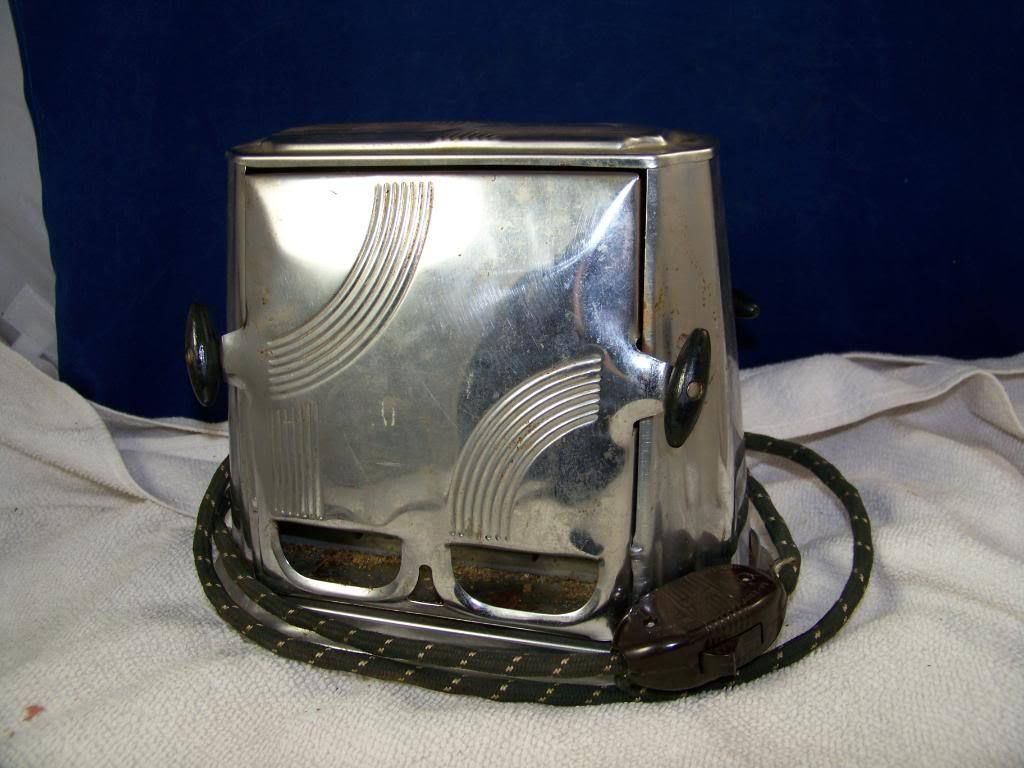 Antique Side loading toaster  Son Chief  made in Connecticut