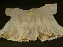 Antique victorian girls linen undershirt camisole
