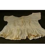 Antique victorian girls linen undershirt camisole - $34.64