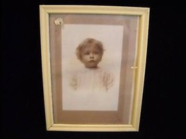 Antique photograph in frame from 1917 - $39.99