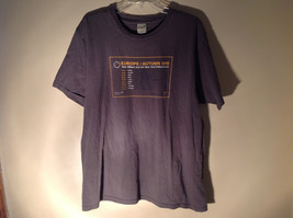Anvil Organic Gray Short Sleeve T-Shirt Europe Autumn 2010 on Front Size XL - $39.99