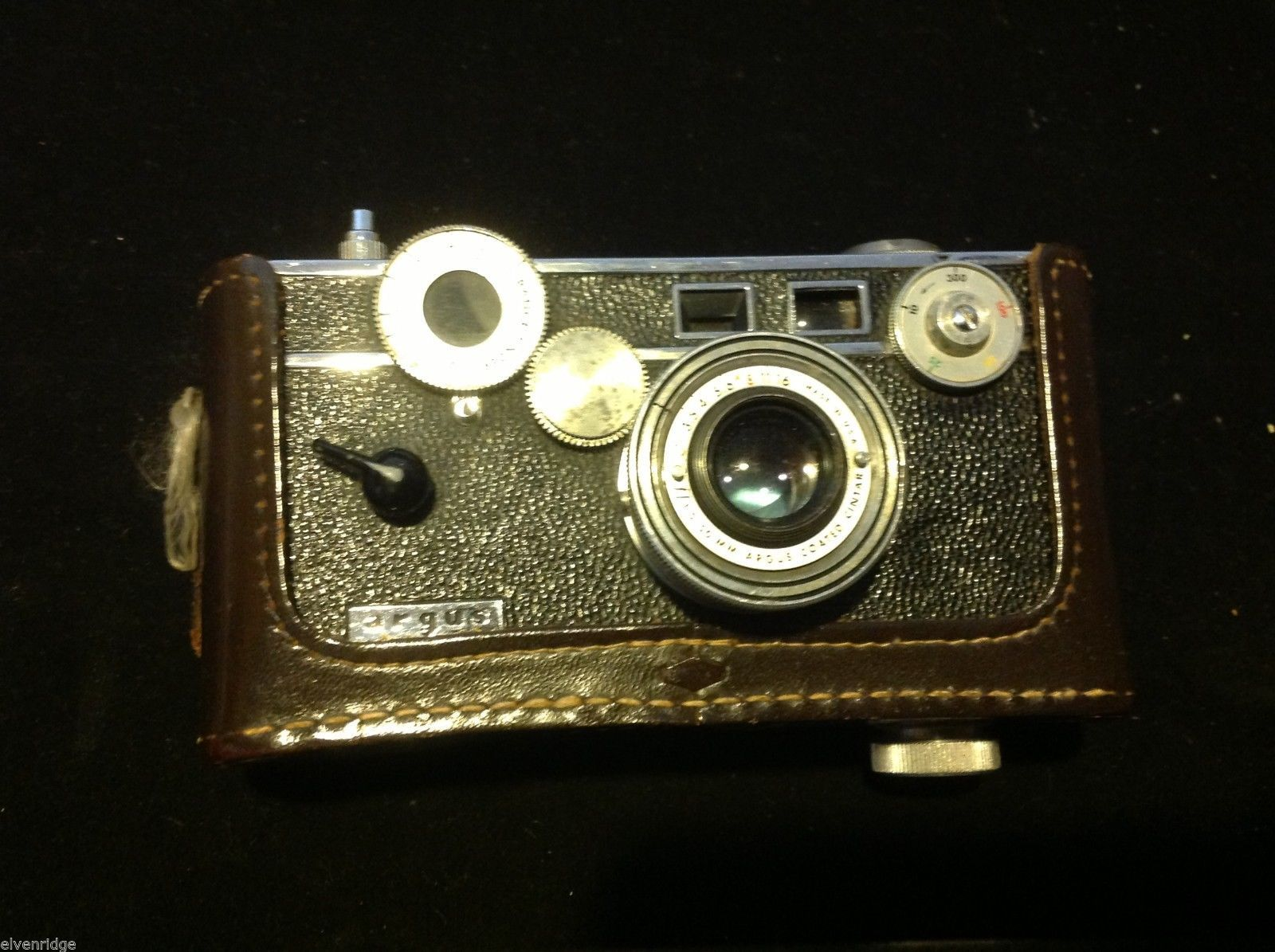 Argus C3 35mm Rangefinder Film Camera