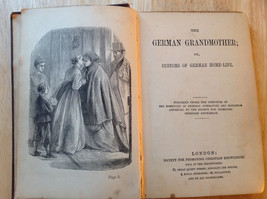 Antique Book The German Grandmother By Society for Promoting Christian Knowledge image 3
