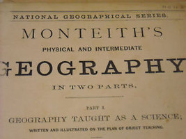1873 National Geographical Physical Geography illustrated image 5