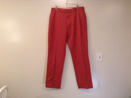 Ashy Red J Crew 100 Percent Cotton Jeans Size 36 by 34 Side Pockets Back Pockets