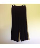 Attractive Anne Brooks Black Dress Pants 100 Percent Polyester Petite Si... - $49.49