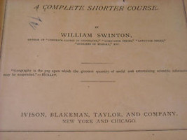 1875 Primary School Geography Textbook illustrated Swinton's image 7
