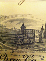 Antique Receipt 1890 St, John Kirkham Shoe Co 134 136 Grand St NYC Sandy Hook CT image 7