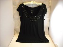 BCBG Max Azria Women's Black Dressy Top