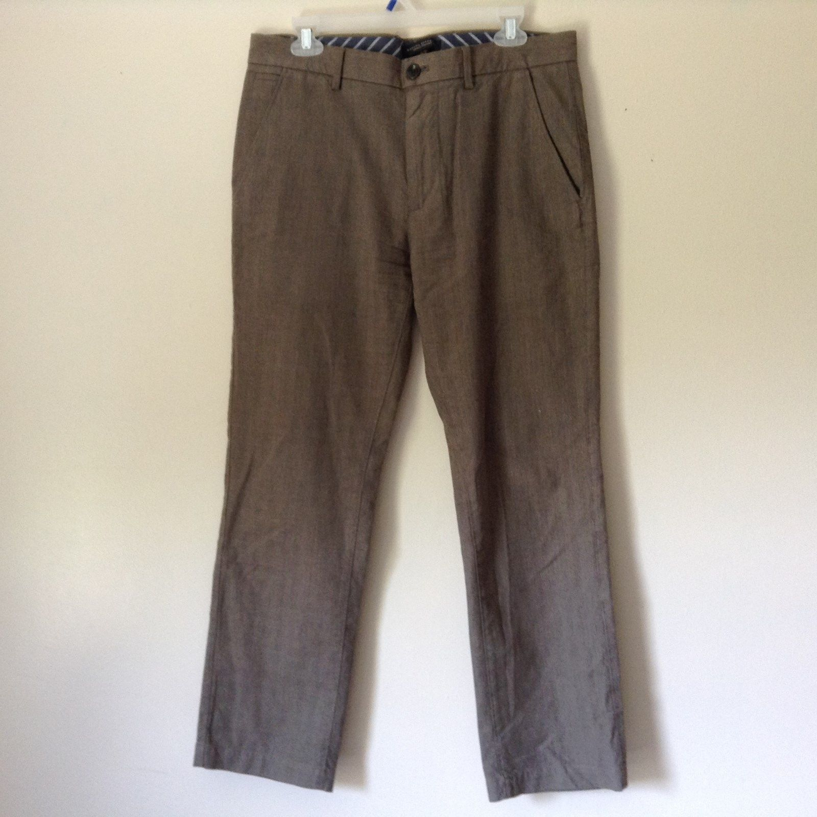 Banana Republic Dress Pants Vintage Straight 100 Percent Cotton Size 32 by 30