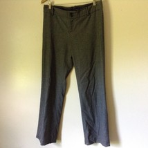 Banana Republic Gray Dress Pants Size 10 Stretch Martin Fit image 1