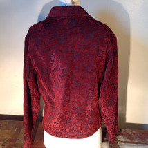 Antique look Button Long Sleeve Shirt with Collar by Touch of Blue Size Small image 5