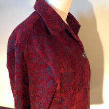 Antique look Button Long Sleeve Shirt with Collar by Touch of Blue Size Small image 4