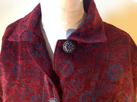 Antique look Button Long Sleeve Shirt with Collar by Touch of Blue Size Small image 2