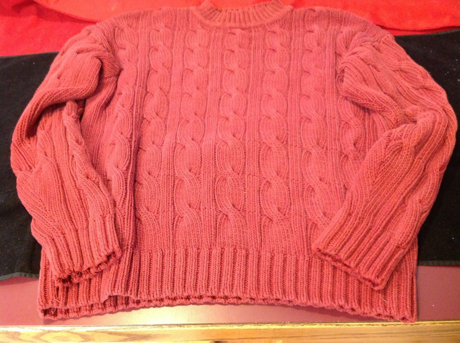 Banana Republic woman's red sweater size small