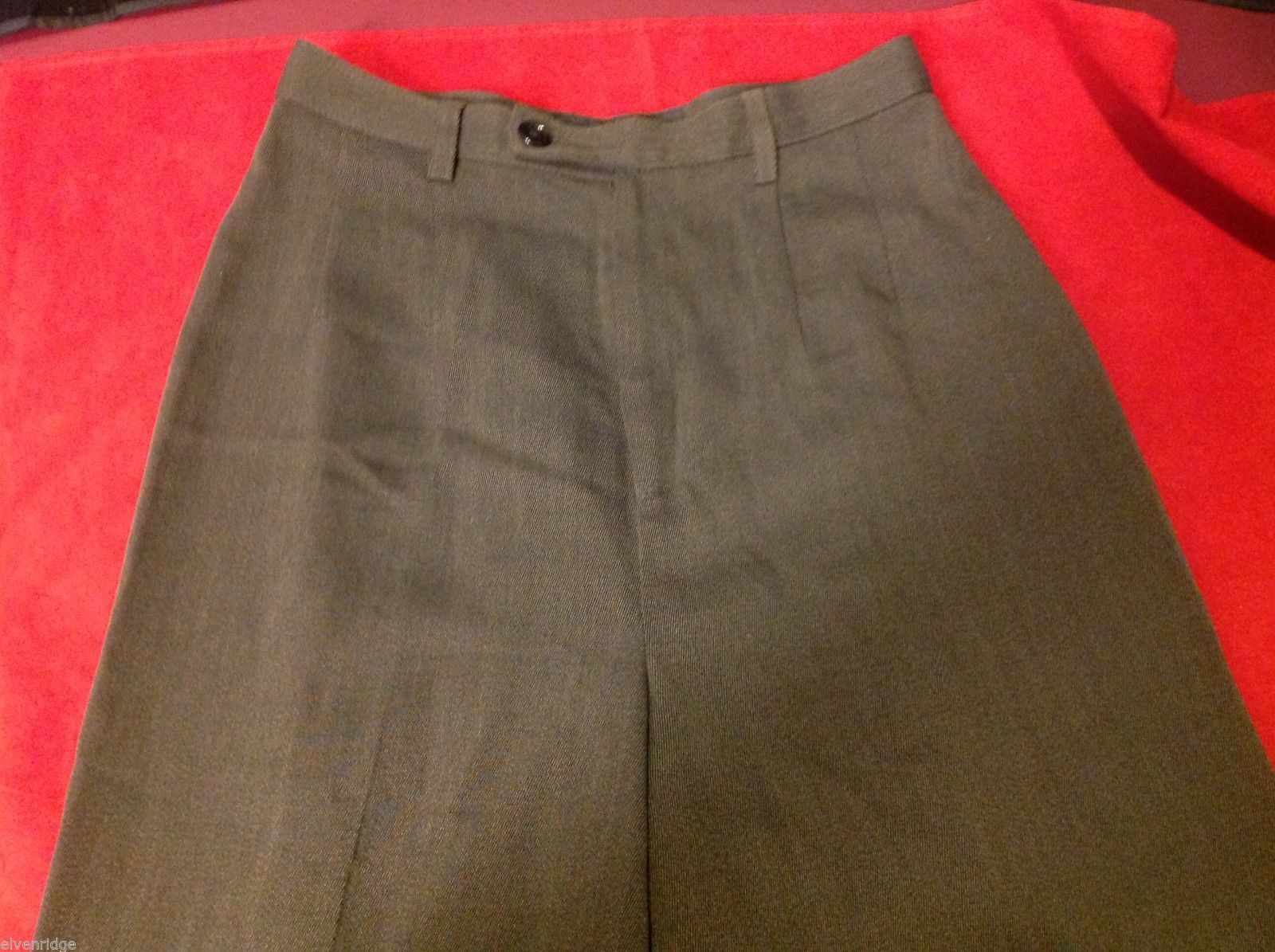 Banana Republic Small pair size 2 Olive pants wool rayon made in Italy