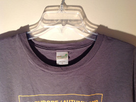 Anvil Organic Gray Short Sleeve T-Shirt Europe Autumn 2010 on Front Size XL image 3