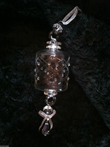 Barrel Glass Ornament w/ diamond cut design