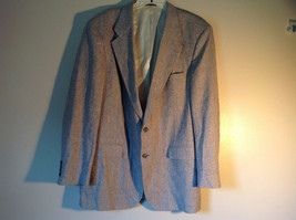 Barrington Gray Wool Suit Jacket with 100 Percent Silk Lining Measurements Below