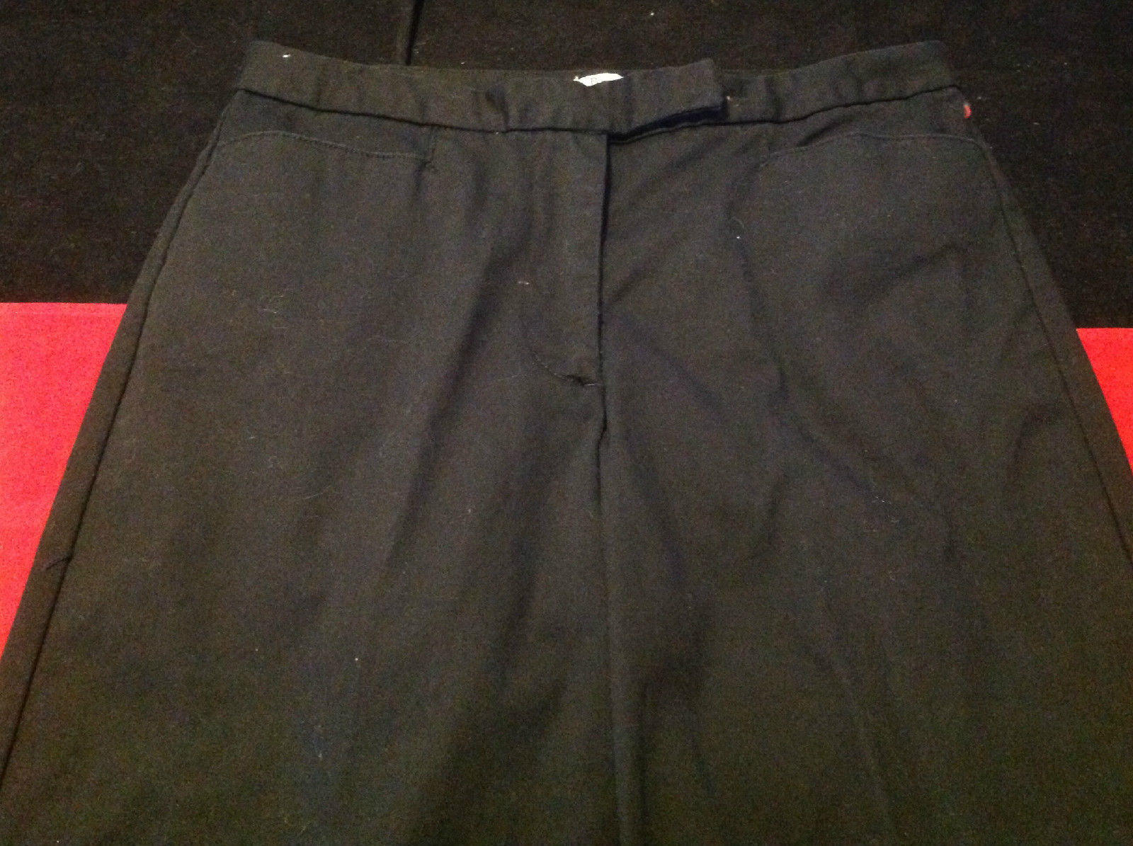 Bass Stretch Ladies Black Pants Size 6