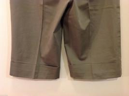 Appraisal Khaki Gray Adjustable Waist Shorts, Size 14 image 6
