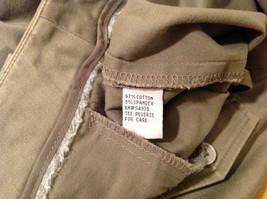 Appraisal Khaki Gray Adjustable Waist Shorts, Size 14 image 8