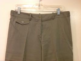 Appraisal Khaki Gray Adjustable Waist Shorts, Size 14 image 3