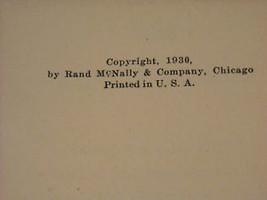 1931 Atlas of the world Gazatteer Rand McNally image 8