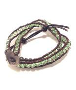 Bella Ryann Wraps leather crystal stone Fashion Bracelet - $17.81+