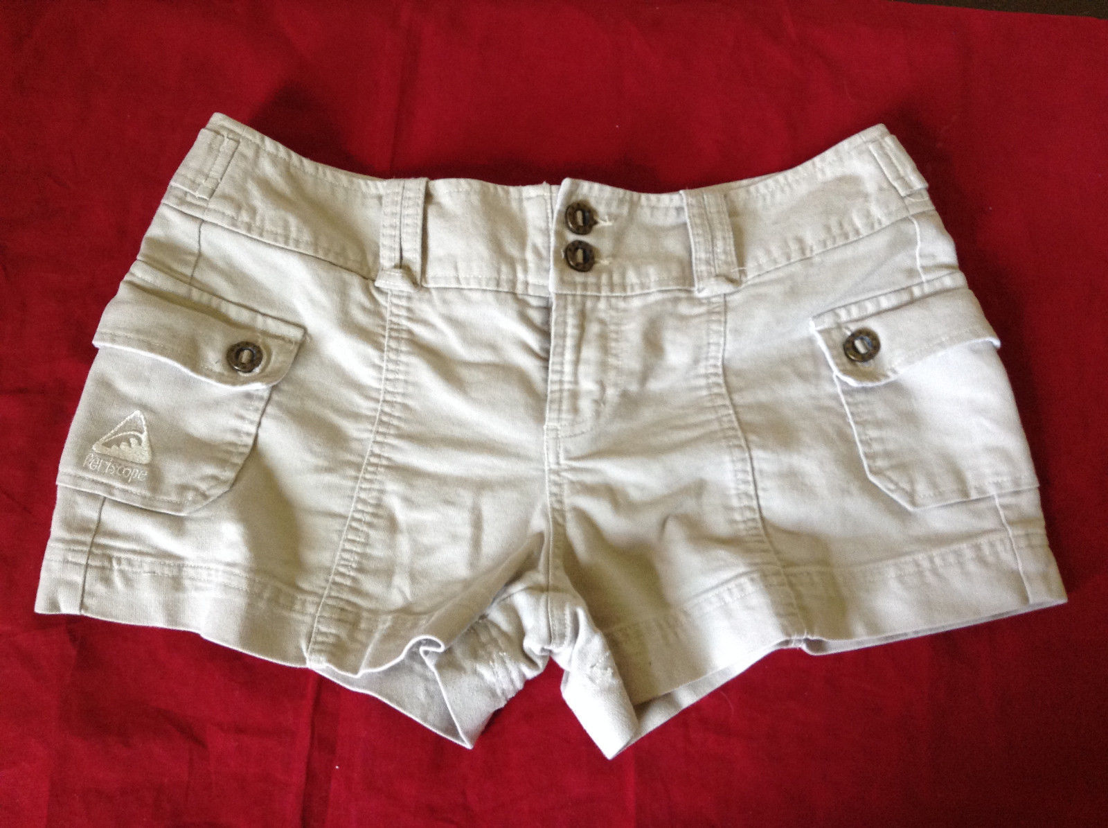 Beige Shorts by Periscope 100 Percent Cotton Size 7