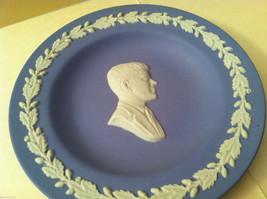 1957 Wedgwood Jasperware Plate Set - John F. Kennedy and Shakespeare Silhouette image 2