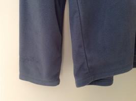 Aspen Gray with Green Zipper Fleece Sweatshirt Front Pocket with Zipper Size L image 3