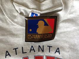 Atlanta Braves Baseball Gray Short Sleeve T Shirt Russel Athletic Size XXL image 8