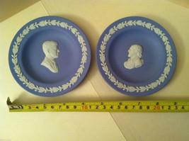 1957 Wedgwood Jasperware Plate Set - John F. Kennedy and Shakespeare Silhouette image 5