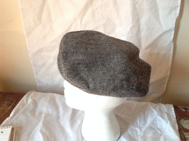 Attractive Small Gray Zig Zag Design Beret Hat Made in USA Size Small image 2