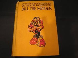 Bill the Minder book w 16 color plate illustrations