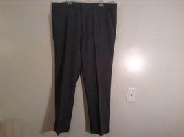 Black Action Slacks by Levi Strauss Pleated Front Dress Pants No Size Tag