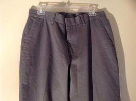 Axist Gray Four Pocket Dress Pants Clasp Zipper Closure Belt Loops Size 34 by 29 image 2
