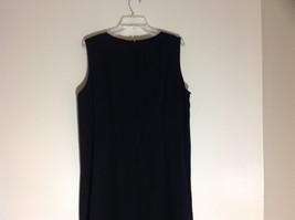 BFA Classics Sleeveless Black Full Length Dress Zipper at Back of Neck Size 18W image 5